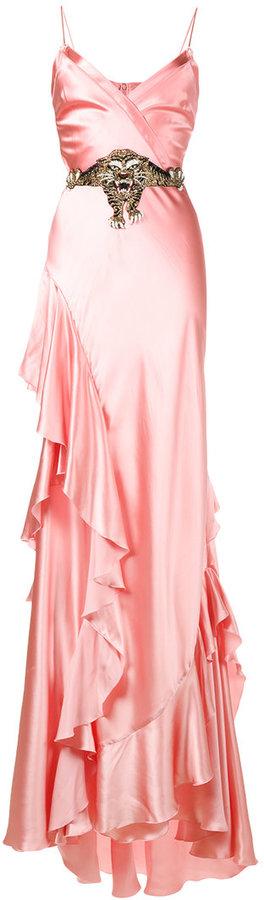GucciGucci ruffle slip gown