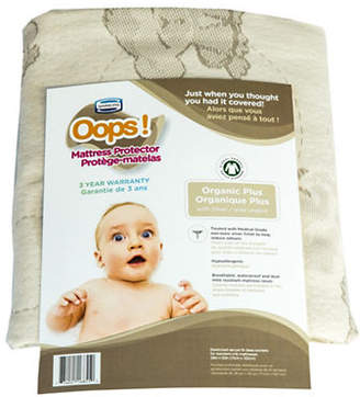 Simmons Oops Organic Mattress Protector