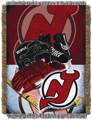 New Jersey Devils Home Ice Advantage Throw Blanket
