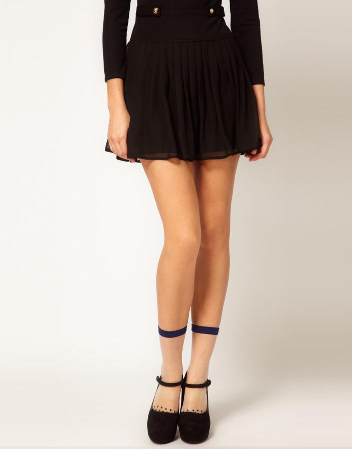 Rachel Comey Dotted Pant Socks