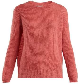 Masscob Flo dropped-shoulder mohair-blend sweater