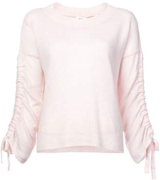 A.L.C. (エーエルシー) - A.L.C. lace-up long sleeve sweater