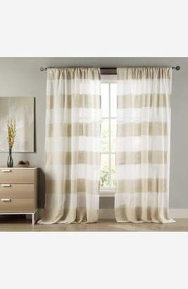 Duck River Textile 'Lydelle' Cabana Stripe Window Panels