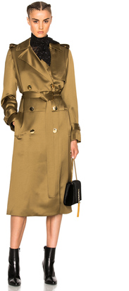 Lanvin Wool Viscose Trench Coat $2,695 thestylecure.com