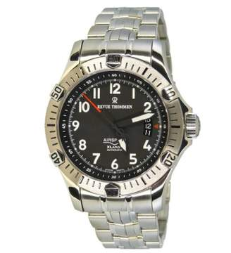 Revue Thommen Gents Watch Airspeed Extra Large XL Analogue Automatic 16070,2231 Stainless Steel