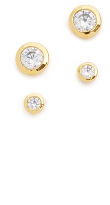 Gorjana Shimmer Stud Earring Set $48 thestylecure.com