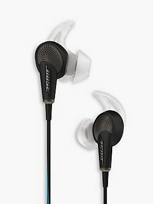 Bose QuietComfort® Noise Cancelling® QC20 Acoustic In-Ear Headphones for Samsung and Android Devices
