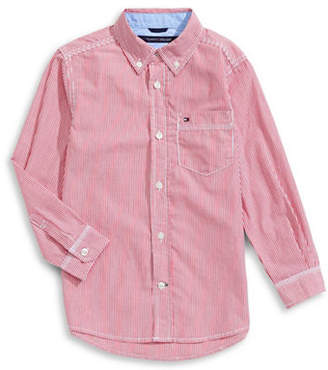 Tommy Hilfiger Striped Button-Down Shirt