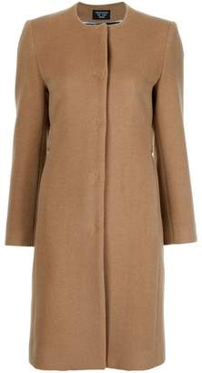 Creatures of the Wind collarless buttoned coat