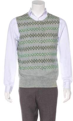 Dries Van Noten Wool-Blend Sweater Vest