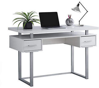 Monarch 48-Inch Rectangular Floating Top Computer Desk