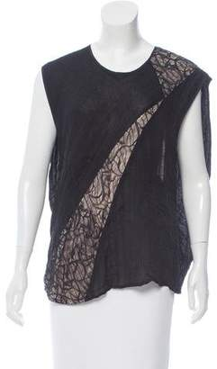 Jeremy Laing Sleeveless Capelet Top
