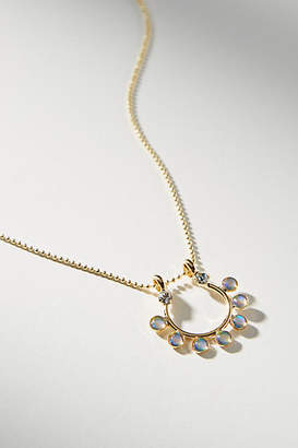 Anthropologie Shaw 14K Gold Pendant Necklace