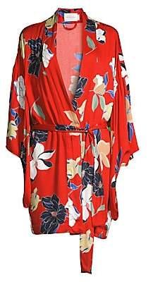 MAISON DU SOIR Women's Tokyo Floral Robe