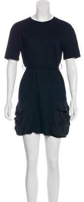 Lanvin Short Sleeve Mini Dress