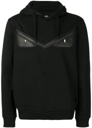 65fb0783ae79 Fendi Black Men s Sweatshirts - ShopStyle
