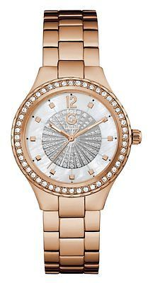 GByGUESS G By Guess Women's Rose Gold-Tone Crystal Glitz Watch $99.99 thestylecure.com