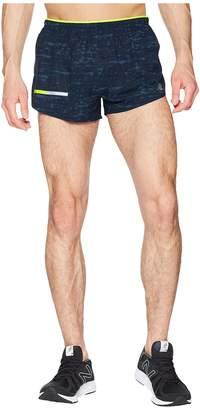 New Balance Printed Impact Split Shorts 3 Men's Shorts