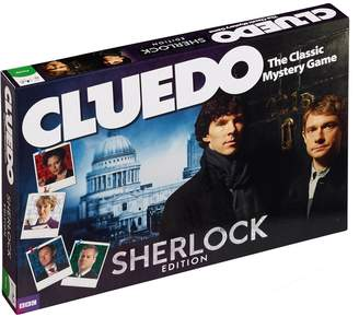 Holmes Sherlock Cluedo