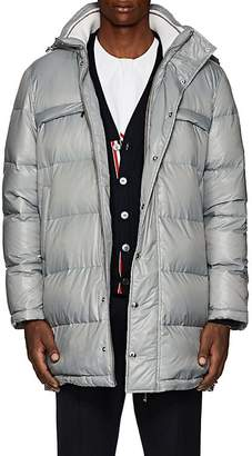 Thom Browne Men's Striped Down Hooded Puffer Coat
