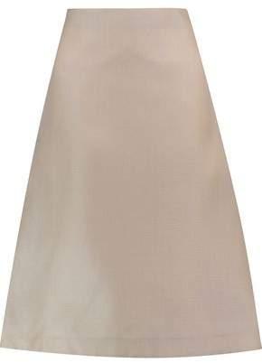 Marni Textured-Silk Midi Skirt