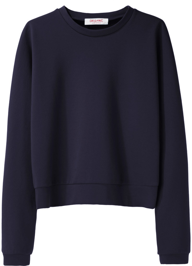 Organic by John Patrick Cropped Sweatshirt