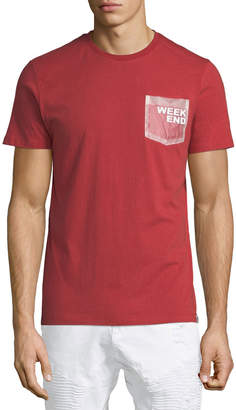 Sovereign Code Men's Lacy Weekend Patch-Pocket Tee