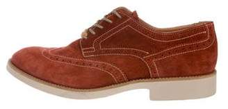 Doucal's Wingtip Suede Derby Brogues w/ Tags