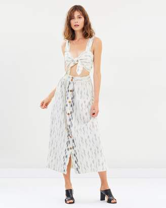 Free People Caldasi Midi Dress