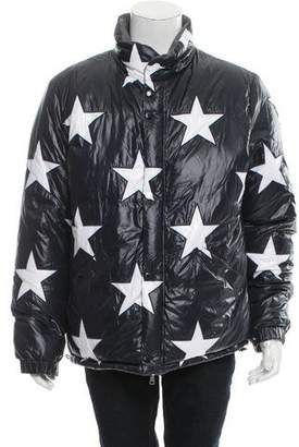 Moncler x Thom Browne 2016 USA Flag 10 Reversible Puffer Jacket w/ Tags