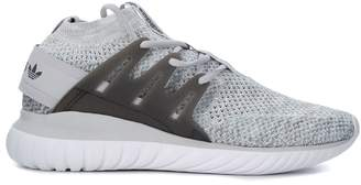 adidas Tubular Nova Grey Sneaker With Glow-in-the Dark Yarn