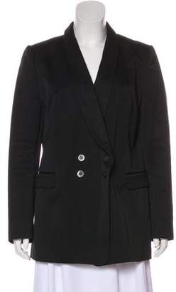 Dries Van Noten Double-Breasted Shawl-Lapel Blazer