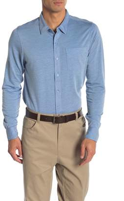 Travis Mathew Trip Knit Long Sleeve Shirt