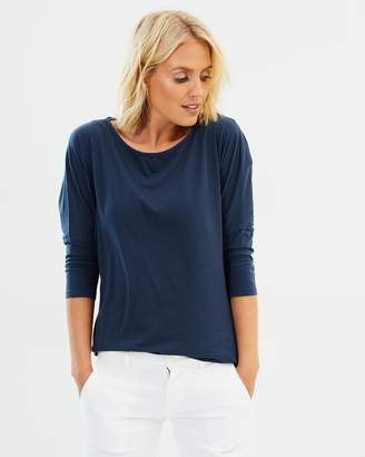 North Sails Scoop Neck 3/4 Sleeve T-Shirt