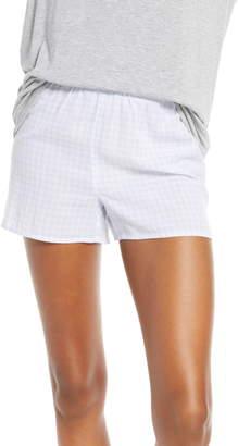 Madewell Gingham Bedtime Pajama Shorts