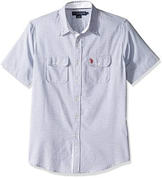 U.S. Polo Assn. Men's Two Pocket Classic Fit Stripe