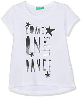 Benetton Girl's T-Shirt Kniited Tank Top,One (Size: X-Large)