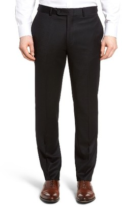 Men's Bensol Flannel Wool Trousers $165 thestylecure.com