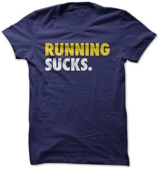 I love Apparel Running Sucks-T-Shirt//XL - Funny T-Shirt Made On Demand in USA