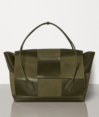 Bottega Veneta THE ARCO 75 IN FRENCH CALF AND SUEDE
