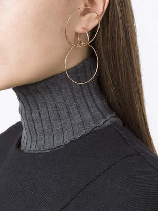 Charlotte Chesnais Hooked hoops earrings