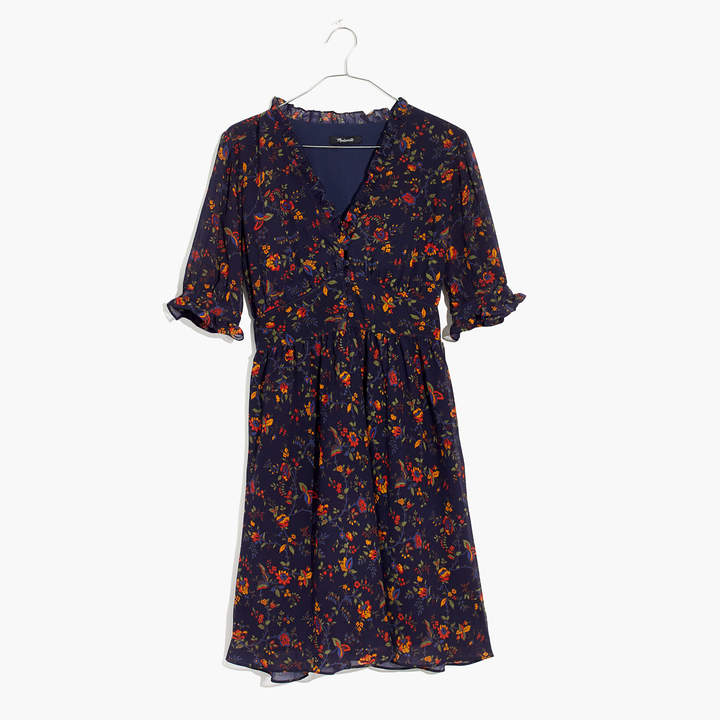 Freesia Dress in Climbing Vine
