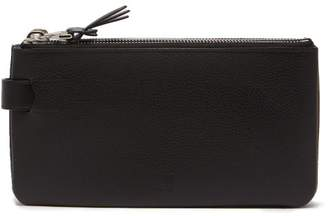 Dunhill Boston 3 In 1 Leather Pouch - Mens - Black
