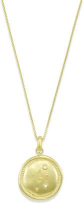 Kendra Scott Aquarius Coin Pendant Necklace