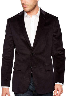 STAFFORD Stafford Corduroy Stretch Classic Fit Full Lined Sport Coat