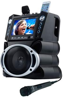 "DAY Birger et Mikkelsen Karaoke Usa Karaoke USA Bluetooth Karaoke System with DVD, CD MP3-G & 7"" Color Screen"