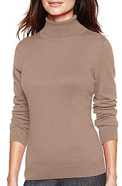 JCPenney Worthington® Turtleneck Sweater