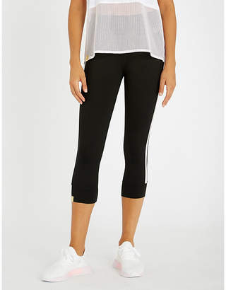 Monreal London Athlete cropped stretch-jersey leggings