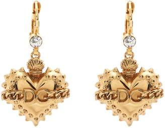 Dolce & Gabbana Heart-drop earrings