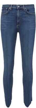 Rag & Bone Mason Seam Front Skinny Jeans